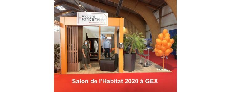 Venez nous retrouver sur notre stand au Salon de l'Habitat à GEX du 18 au 20 Septembre 2020